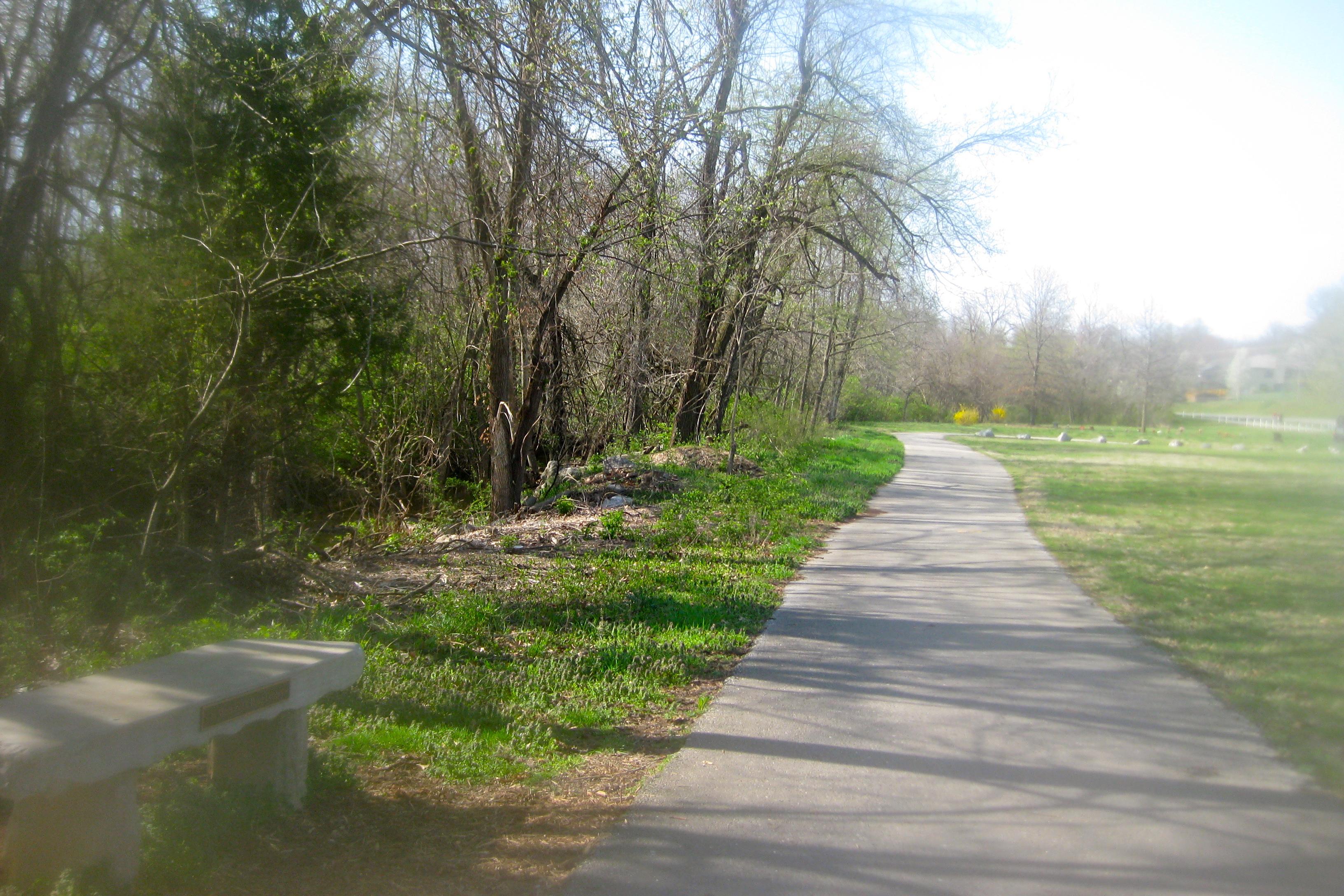 Galloway Creek Greenway Trail Springfield Mo Hike